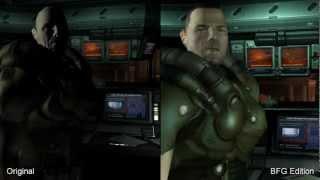 Doom 3 Original vs. BFG Edition Comparison HD