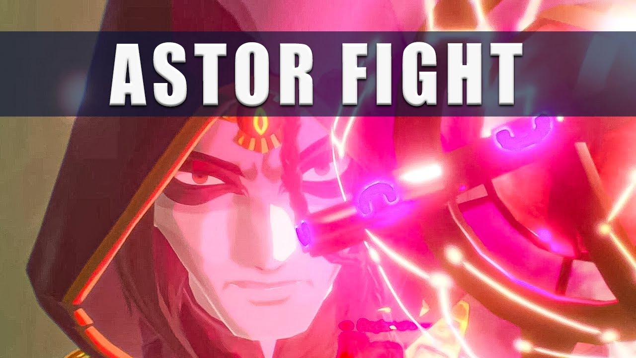 Hyrule Warriors Age Of Calamity Astor Fight How To Beat Astor Youtube