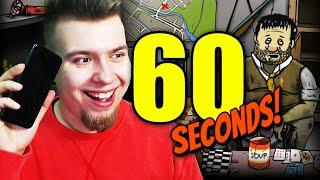 WIDZ PODEJMUJE ZA MNIE DECYZJE! (60 Seconds #40)