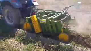 patates söküm makinası