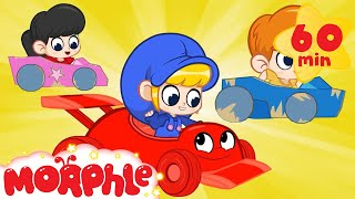 Morphle's Race Cars | Cartoons for Kids | Cars, Trucks and Vehicles | Morphle TV
