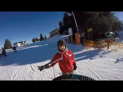 Winter holiday skiing | GoPro Hero4 Silver