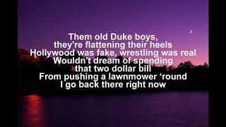 I Lived It - Blake Shelton - Lyrics