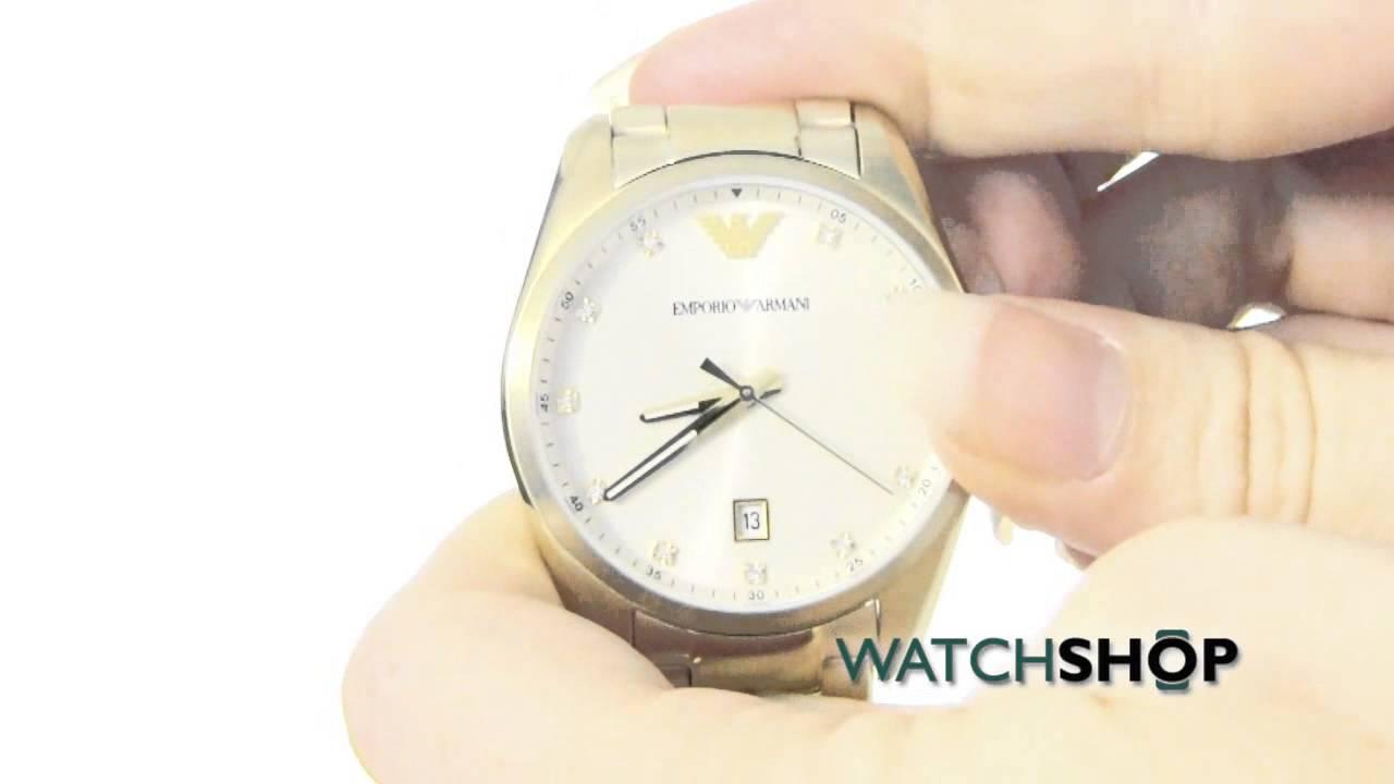 d06961e0766 Emporio Armani Ladies  Watch (AR6064) - YouTube