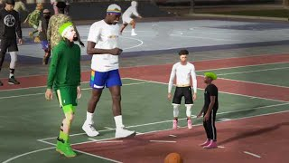 94 OVR MIDGET POST SCORER and MIDGET DRIBBLE GOD DOMINATE the PARK in NBA2K19