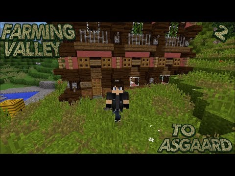 Farming Valley Modded Minecraft LP EP #2: Building Our General Store