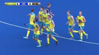 Australia v USA Day 1 Sultan of Johor Cup Hockey 2017