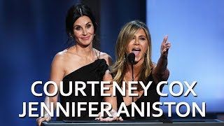 Courteney Cox and Jennifer Aniston to George Clooney: 'You're Welcome!""