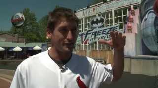 David Freese on MR. FREEZE: Reverse Blast at Six Flags St. Louis