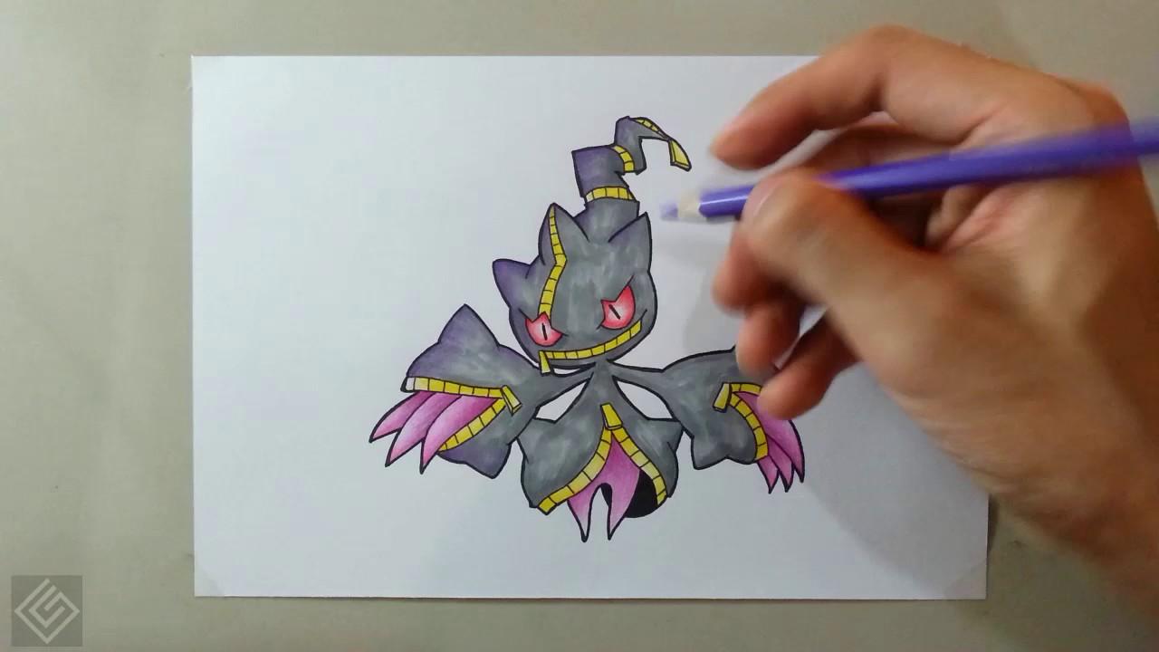 mega banette pokemon mega evolution 23 labyrinth draw