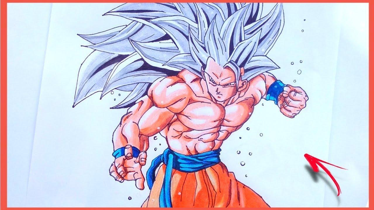 Como Desenhar O Goku Super Sayajin 3 Ultra Instinto Superior