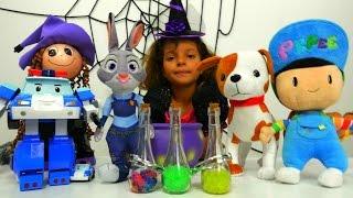 Видео с игрушками Зверополис - Волшебница - Маленькая Ведьмочка Кати - Мультики для девочек