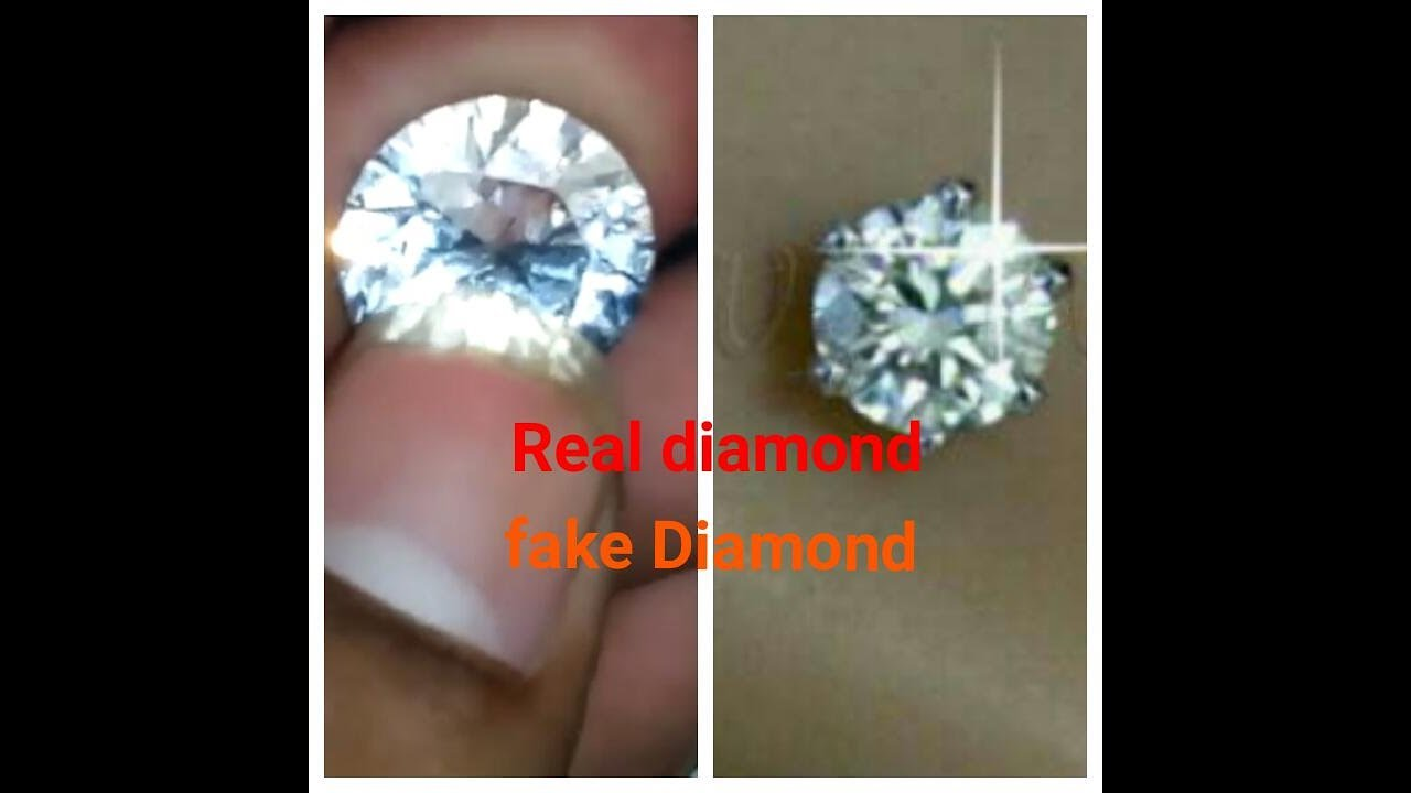 how to tell a real diamond vs fake