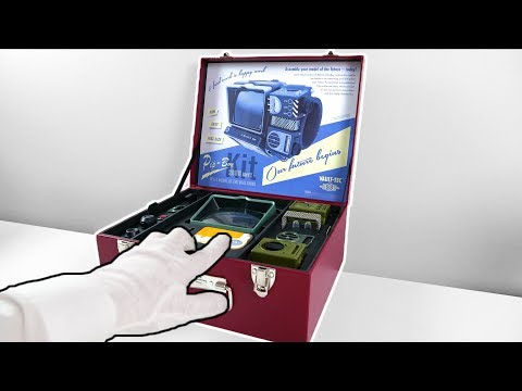 """Fallout 76 """"Pip-Boy Edition"""" Unboxing (Buildable Collector's Edition) + Nuke Launch"""
