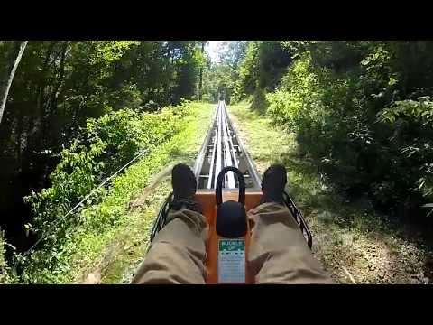 Pigeon Forge Alpine Coaster POV GoPro Fast!