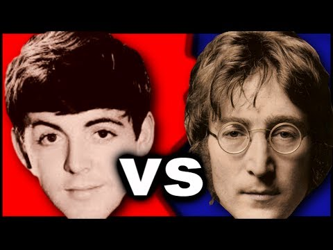 Paul McCartney vs John Lennon  - Who is the Best Beatle? -  In- Band Rivalries and Feuds