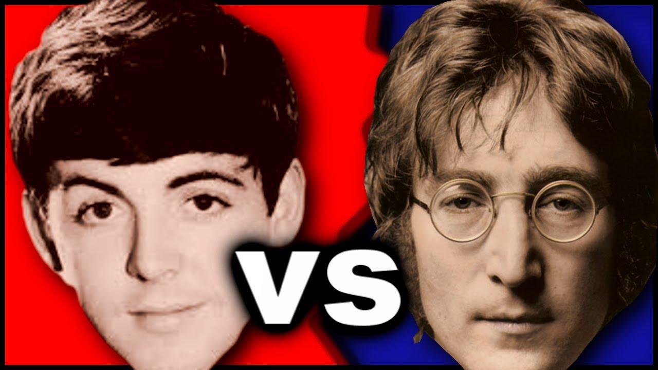 Paul McCartney Vs John Lennon