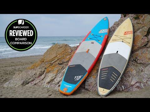 Inflatable Or Hard Board? We Compared A JP-Australia Hybrid (hard) & CrusiAir ISUP