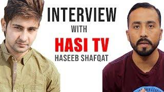 Hasi Tv Interview Wtih Tamoor Prdasi