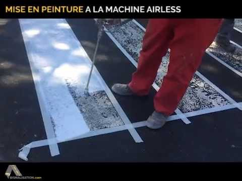 tutoriel pour appliquer la peinture routi re solvant e mysignalisation youtube. Black Bedroom Furniture Sets. Home Design Ideas