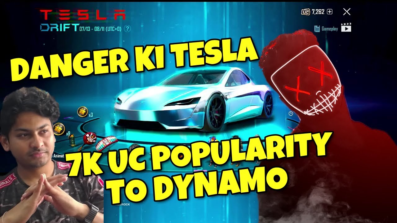 Danger Funny Tesla Crate Opening | Hydra Danger Gave 7000 UC Popularity To Dynamo
