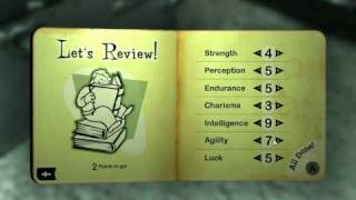 Fallout 3 Tips & Tricks: Part 1/3 Character creation