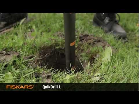 Fiskars QuikDrill™ garden drill