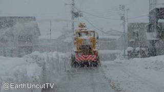 Thunder Snow & Immense Sea Effect Snowfall In Japan 大雪新潟県 thumbnail
