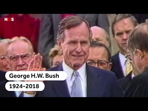 BUSH: George Bush senior (94) overleden; een overzicht van zijn presidentschap
