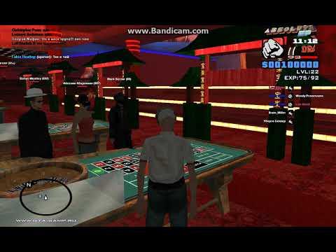сервера самп где можно играть в казино