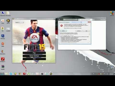 FIFA 15 :Решение ошибки Microsoft NET Framework