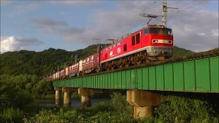 EF510貨物 羽越本線 間島~村上間 2017.09.15