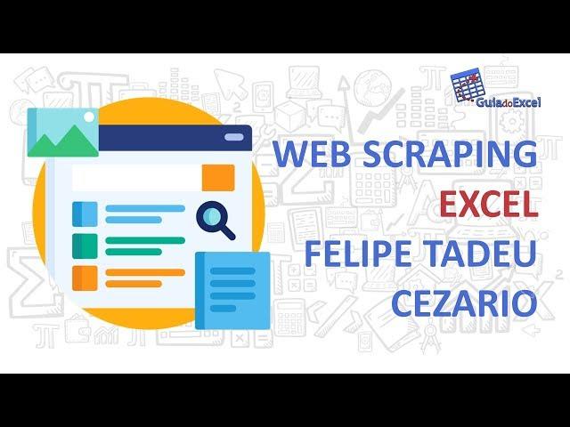 Web scraping Excel - Felipe Tadeu Cezario