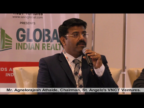 Agnelorajesh Athaide interview in Global Indian Realty Summit at Dubai