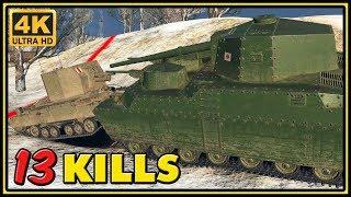 O-Ni - 13 Kills - 1 VS 6 - World of Tanks Gameplay - 4K Video