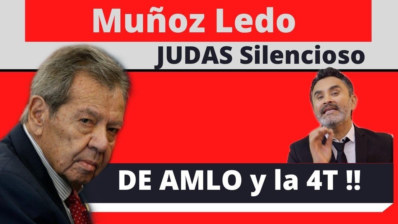 MUÑOZ LEDO Judas silencioso de AMLO y la 4T.