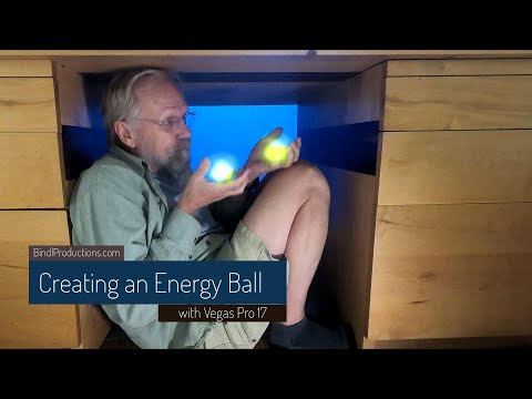 Creating an Energy Ball/Globe with Vegas Pro 17