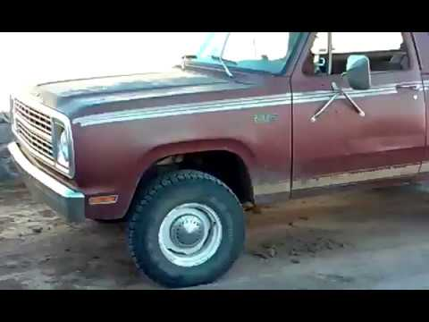 1979 Plymouth Trailduster 4x4 Offroad Truck