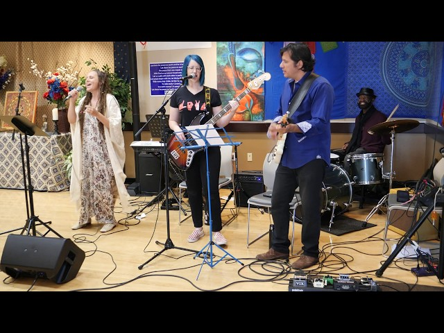 Sheila Nicholas and Soul Center Band cover 'My Soul Sings Out' by Susan J. Paul