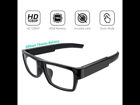 1080p Hidden Camera Spy Glasses - REVIEW & DEMO (2014 Video) from YouTube · Duration:  9 minutes 21 seconds