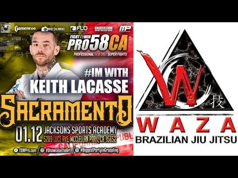 Fight to Win Pro 58: Keith LaCasse (Waza BJJ) vs. Roque Reyes (Cortez Martial Arts)