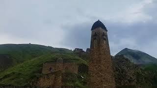 Башни Кавказа . Сама история написанное в горах Чечни в городе Никарой