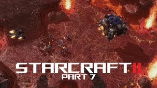 StarCraft II Wings of Liberty Gameplay 1080p60 - Part 7