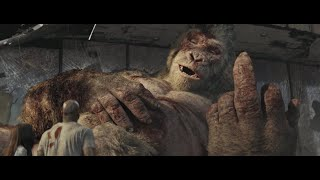 George Showing Middle Finger To Dwayne Jhonson | Rampage Movie Ending Scene