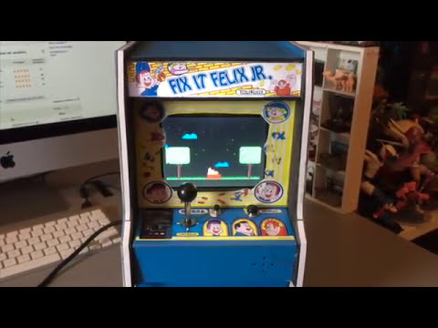 Fix It Felix JR - Mini Arcade Cabinet - By 100Retroshock ITALY ...