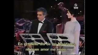 Plácido Domingo and Sissel - The Twelve Days of Christmas
