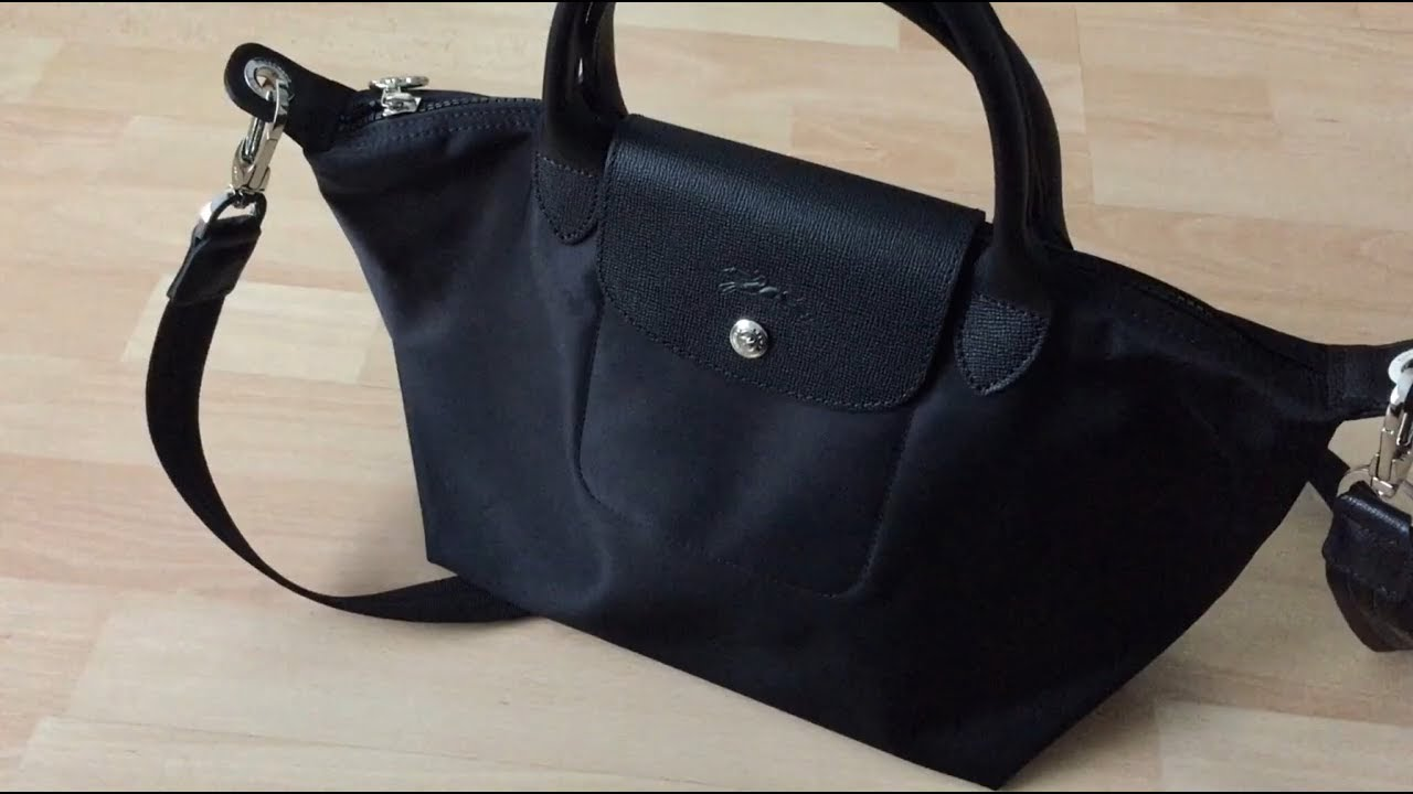 Unboxing Longchamp Le Pliage Neo Small Handbag - Online Shopping
