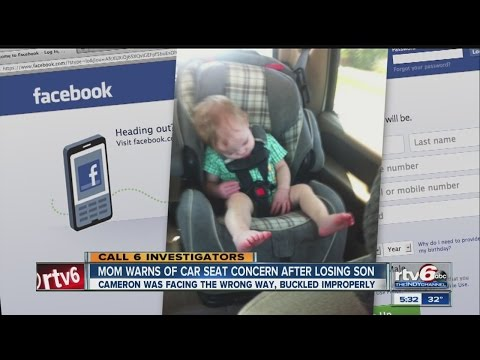 Parents Facing Vehicle Seats Forward Too Early