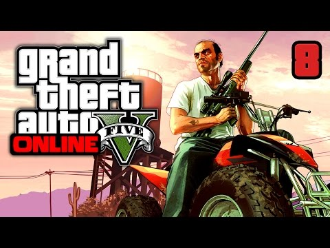 GTA 5 Online | Hackers online (PC) #8