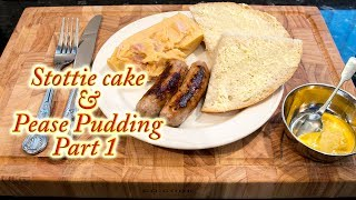 Stottie cake bread Part 1